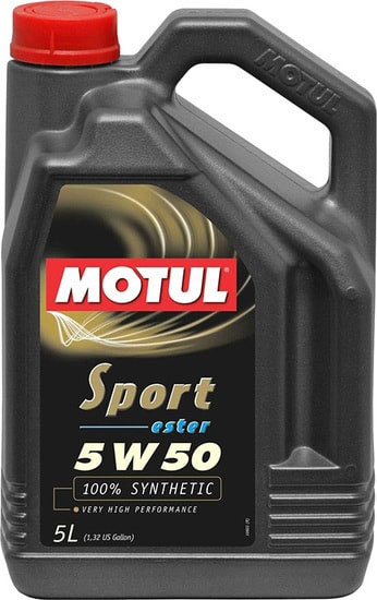 Моторное масло Motul Sport Ester 5W-50 5л
