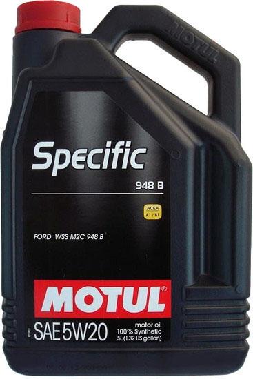 Моторное масло Motul Specific 948 B 5W-20 5л