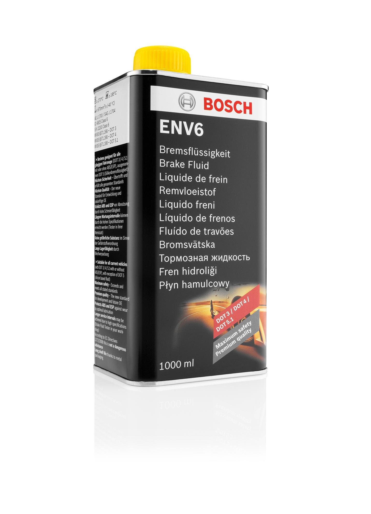 Жидкость тормозная BOSCH ENV6 1л