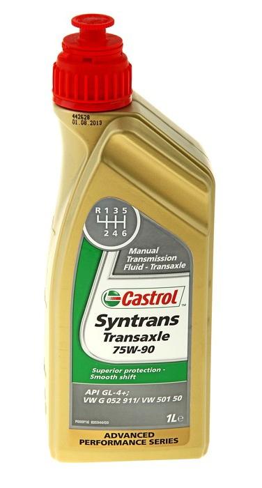 Трансмиссионное масло Castrol Syntrans Transaxle 75W-90 1л