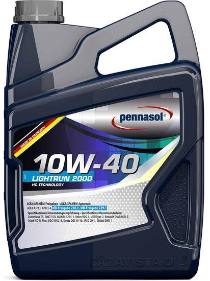 Моторное масло Pennasol Lightrun 2000 10W-40 5л