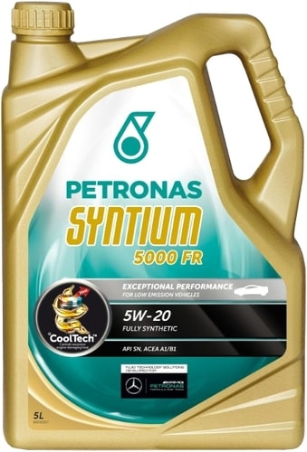 Моторное масло Petronas Syntium 5000 FR 5W-20 5л