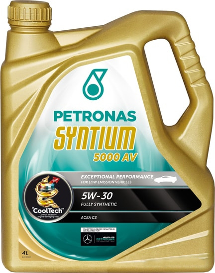 Моторное масло Petronas Syntium 5000 AV 5W-30 4л