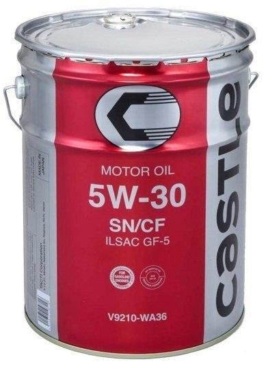 Моторное масло Toyota SN GF-5 5W-30 20л