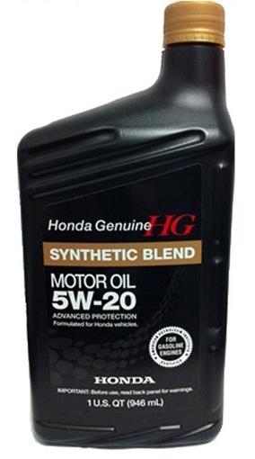 Моторное масло Honda Synthetic Blend 5W-20 SN (08798-9032) 0.946л