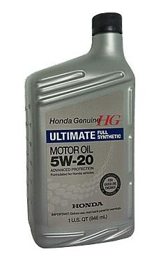 Моторное масло Honda Full Synthetic 5W-20 SN (08798-9038) 0.946л