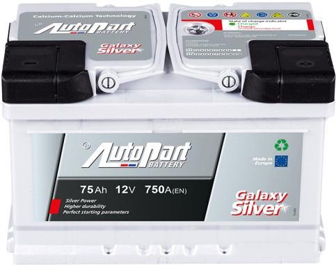 Аккумулятор AutoPart GL750 575-330 (75 А·ч)
