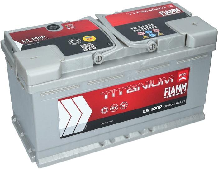 Аккумулятор FIAMM Titanium Pro (100А·ч)