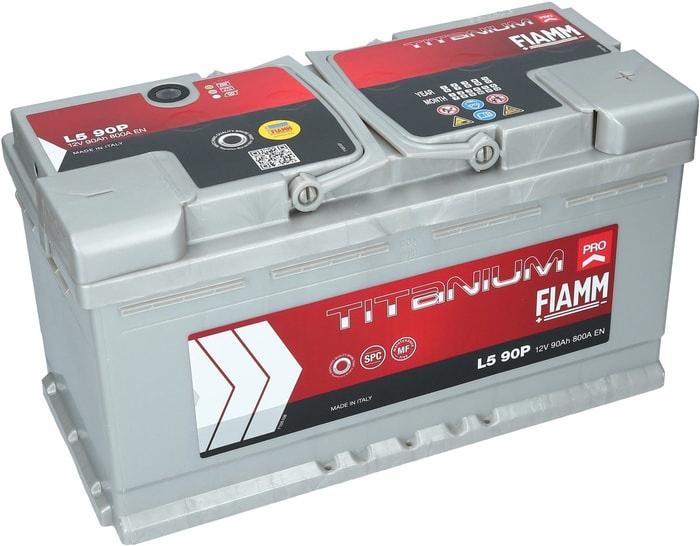 Аккумулятор FIAMM Titanium Pro (90 А·ч)