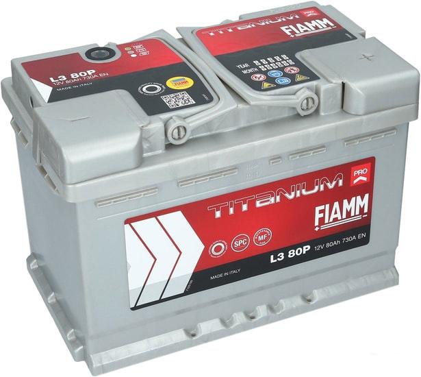 Аккумулятор FIAMM Titanium Pro (80А·ч)