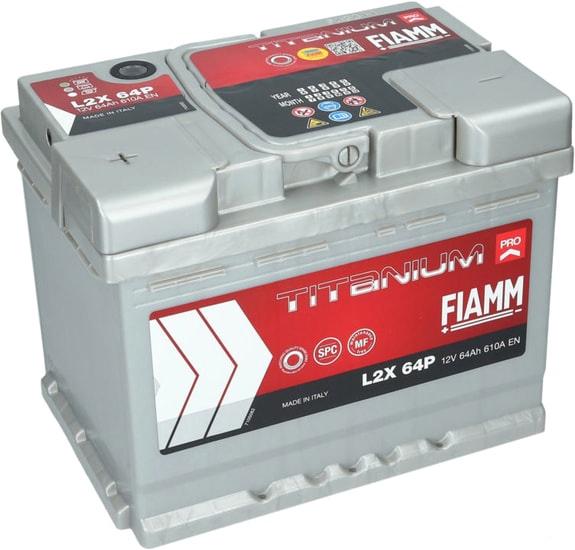 Аккумулятор FIAMM Titanium Pro (64 А·ч)