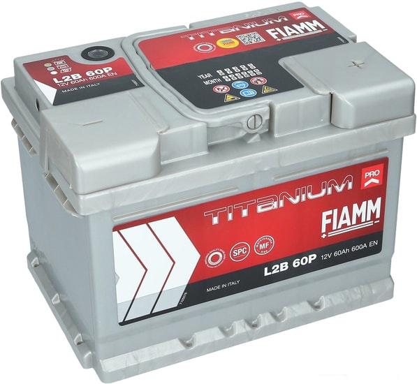 Аккумулятор FIAMM Titanium Pro (60 А·ч)