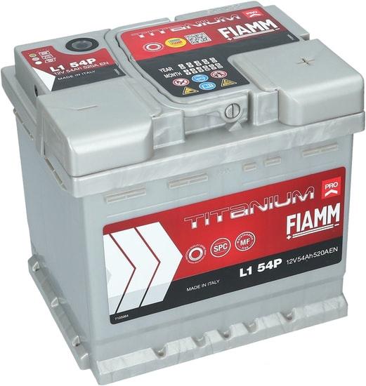 Аккумулятор FIAMM Titanium Pro (54 А·ч)