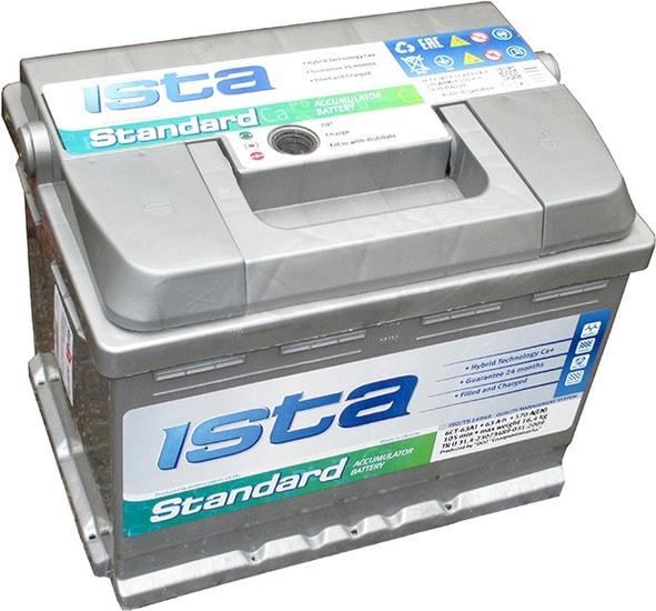 Аккумулятор ISTA Standard 6CT-63A1 (63 А·ч)