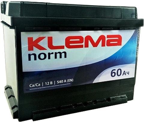 Аккумулятор Klema Norm 6CТ-60А3(0) (60 А·ч)