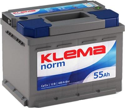 Аккумулятор Klema Norm 6CТ-55А3(0) (55 А·ч)