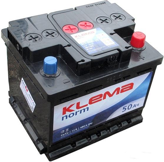Аккумулятор Klema Norm 6CТ-50А3(0) (50 А·ч)