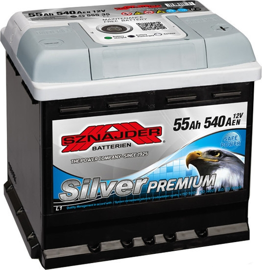 Аккумулятор Sznajder Silver Premium 564 45 (55 А·ч)