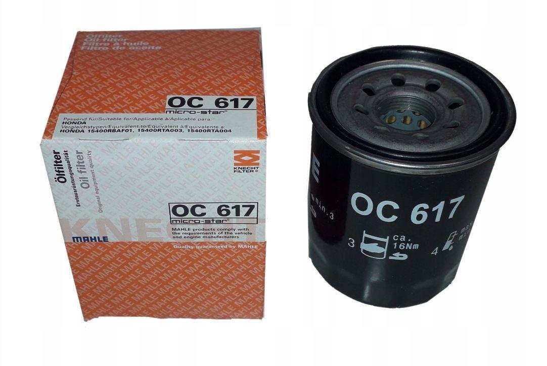 OC617 фильтр масляный Knecht/Mahle