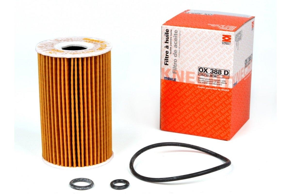 OX388D фильтр масляный Knecht/Mahle