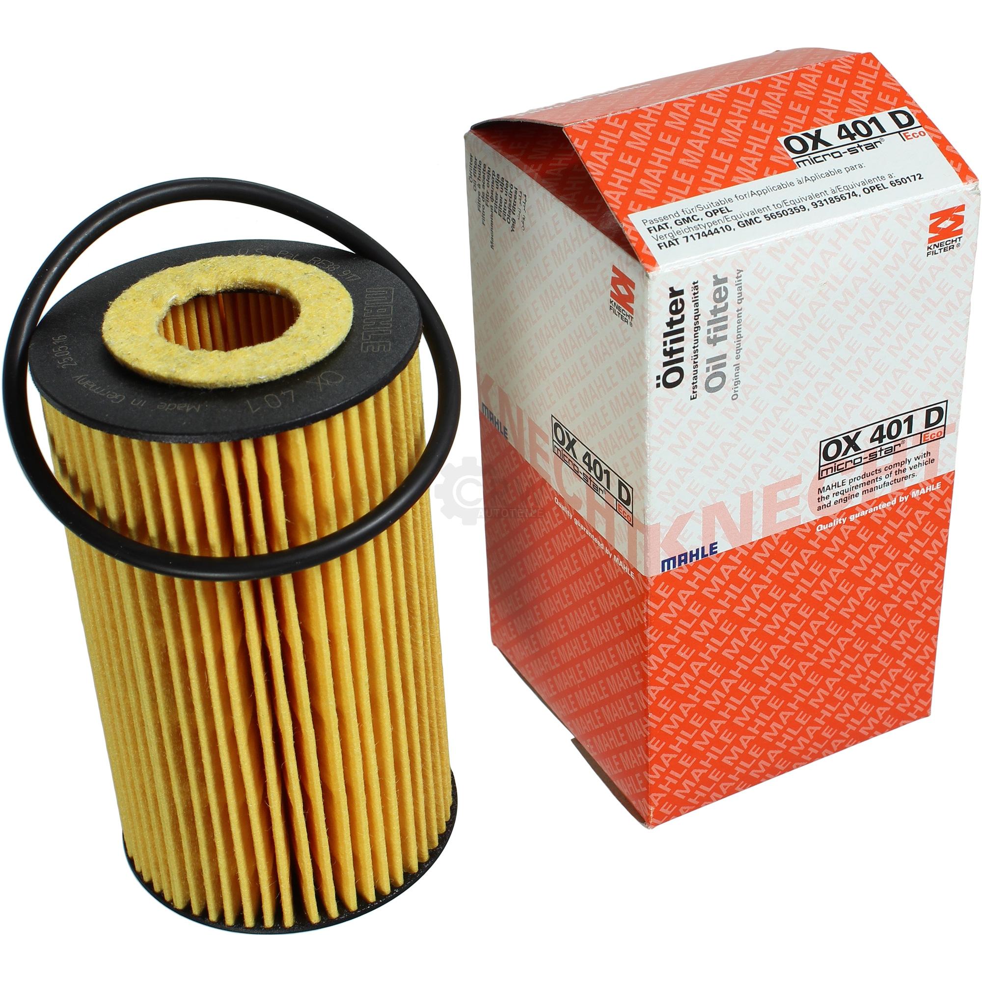OX401DA фильтр масляный Knecht/Mahle