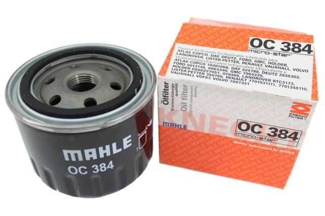 OC384A фильтр масляный Knecht/Mahle