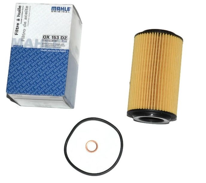OX153D2 фильтр масляный Knecht/Mahle