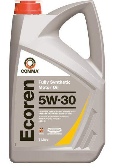 Моторное масло Comma Ecoren 5W-30 5л
