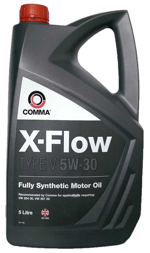 Моторное масло Comma X-FLow Type V 5W-30 5л