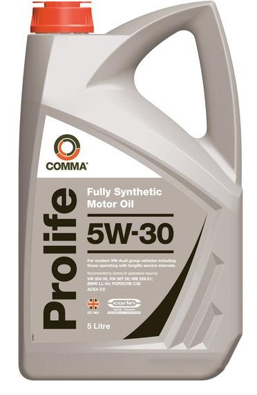 Моторное масло Comma Prolife 5W-30 5л