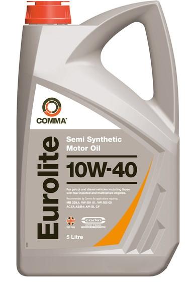 Моторное масло Comma Eurolite 10W-40 5л
