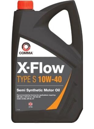 Моторное масло Comma X-Flow Type S 10W-40 4л