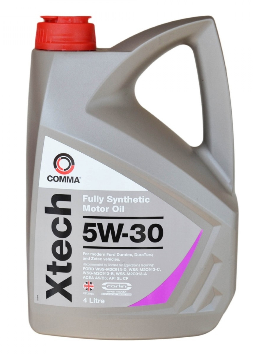 Моторное масло Comma Xtech 5W-30 4л