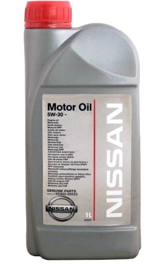 Моторное масло Nissan Motor Oil 5W-30 1л [KE900-99933]  A5/B5