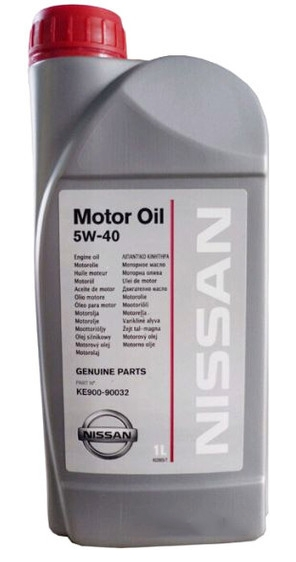 Моторное масло Nissan 5W-40 1л