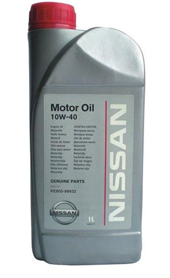 Моторное масло Nissan 10W-40 1л