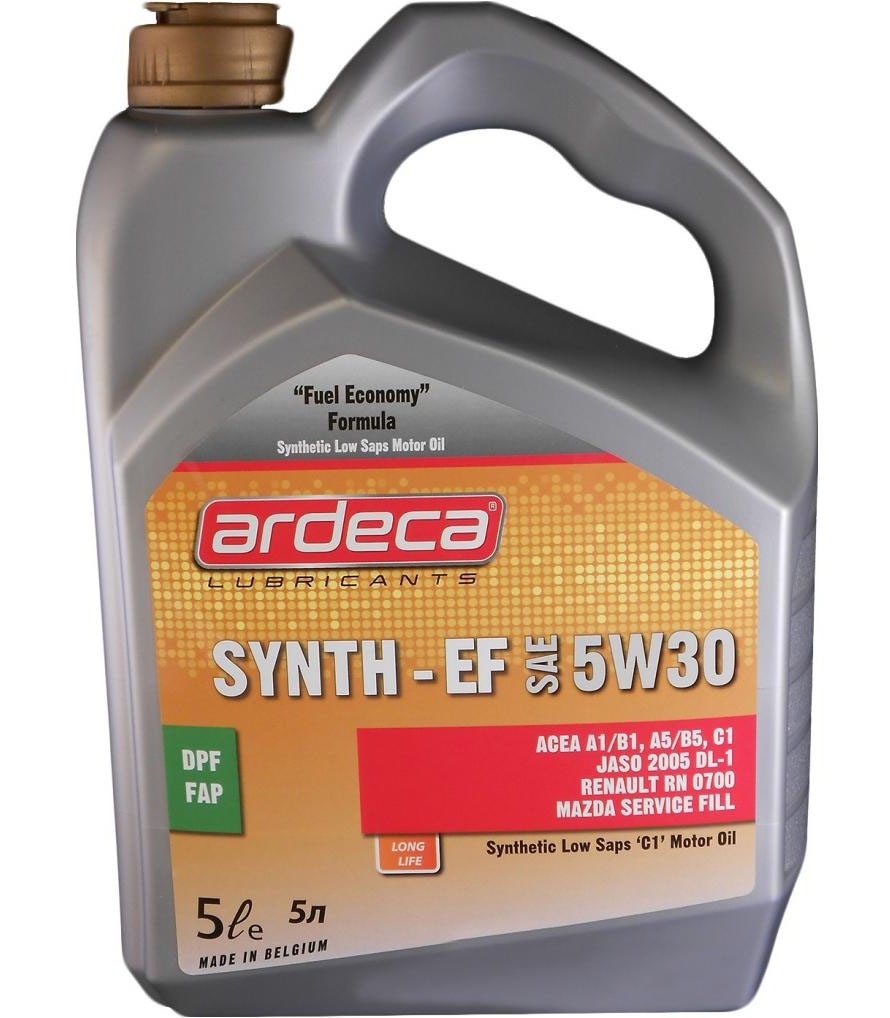 Моторное масло Ardeca SYNTH-EF 5W-30 5л