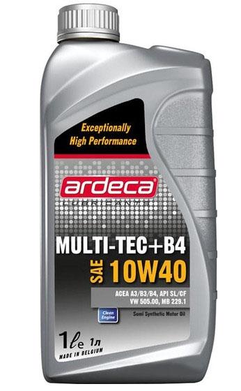 Моторное масло Ardeca MULTI-TEC + B4 10W-40 1л