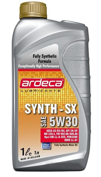 Моторное масло Ardeca SYNTH-SX 5W-30 1л