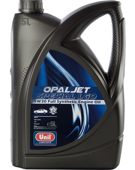 Моторное масло Unil Opaljet Special LGO 5W-30 5л