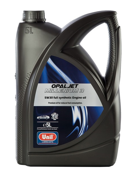 Моторное масло Unil Opaljet Millenium 3 5W-30 5л