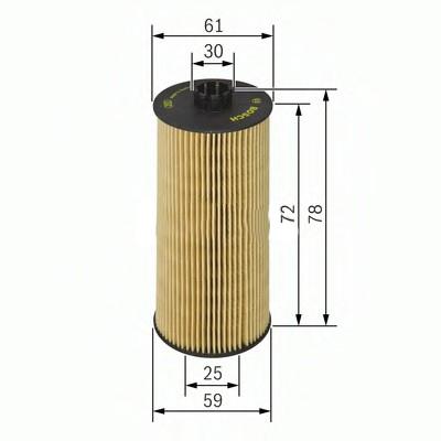 1457429178 Фильтр масляный Bosch