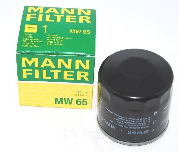 MW65 фильтр масляный Mann-Filter