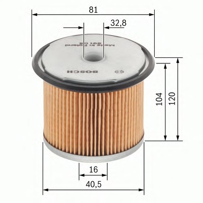 1457429165 Фильтр масляный Bosch