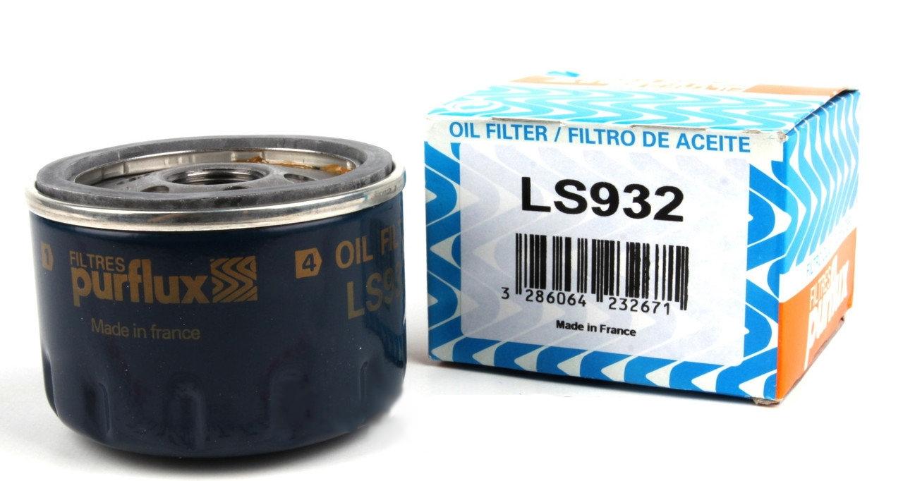 LS932 фильтр масляный Purflux