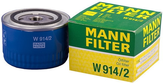 W914/2 фильтр масляный Mann-Filter