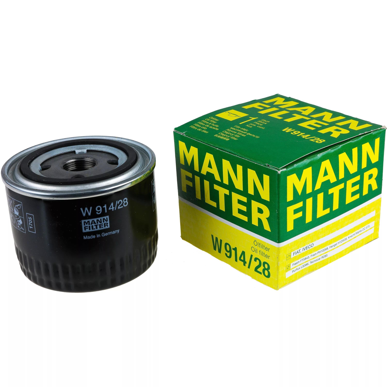 W914/28 фильтр масляный Mann-Filter