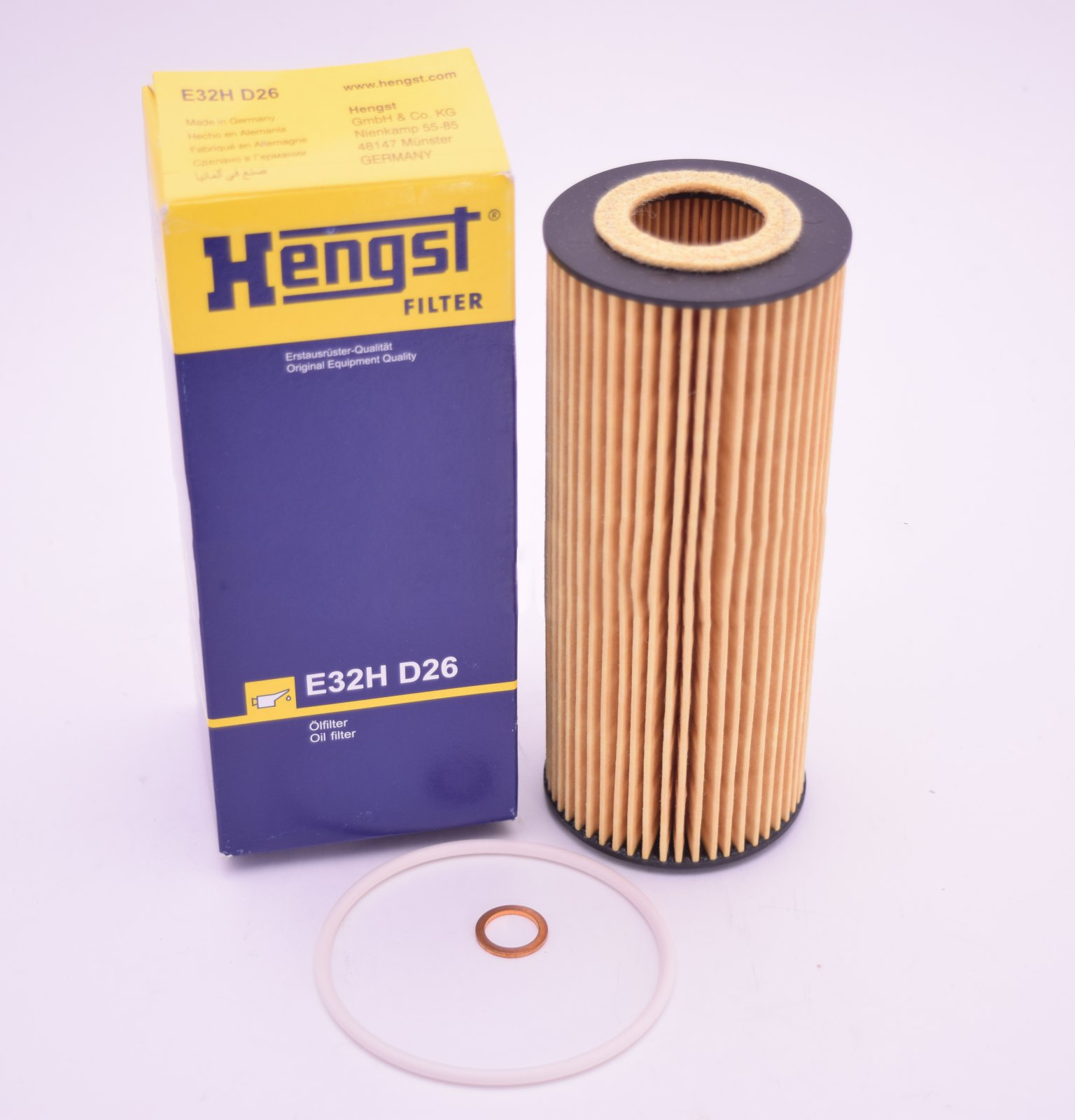 E32HD26 фильтр масляный Hengst