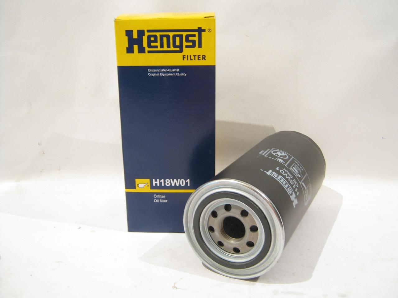 H18W01 фильтр масляный Hengst