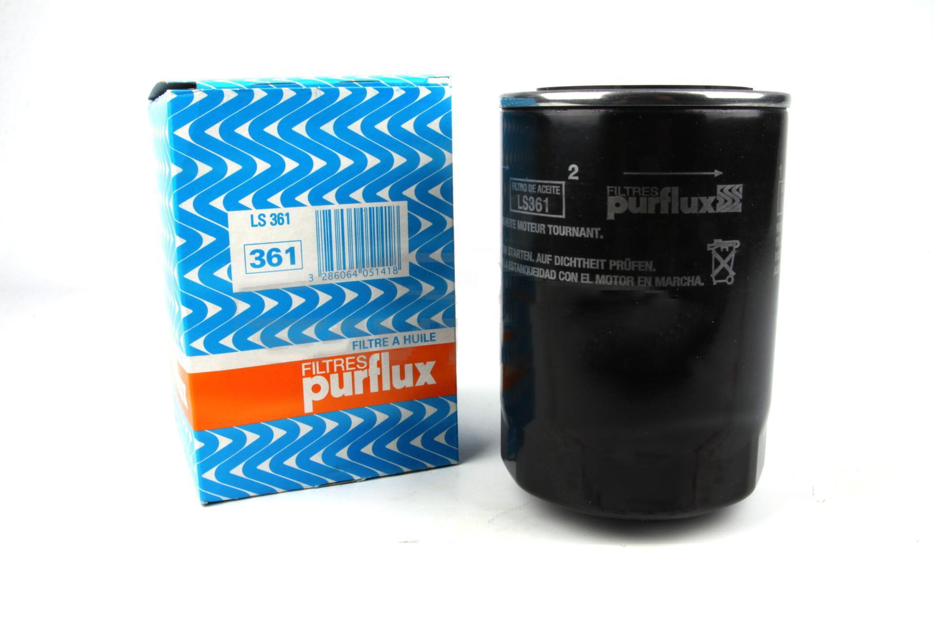 LS361 фильтр масляный Purflux